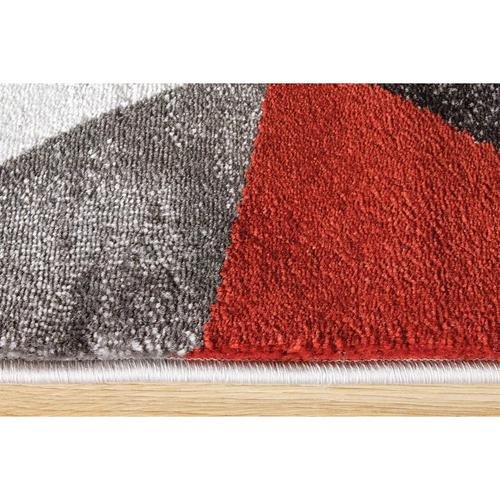 Platinum 3397 Grey Red White 2 x 8