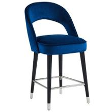 Vogue 26'' Counter Stool, set of 2 in Blue