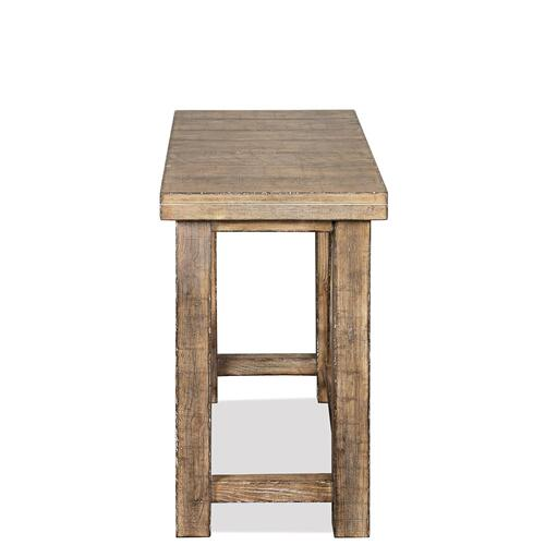 Sonora - Chairside Table - Snowy Desert Finish