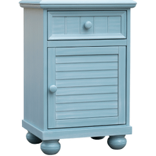 Beachfront Blue Door Nightstand