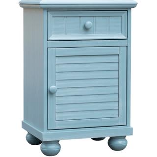 Beachfront Blue Door Nightstand