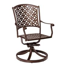 See Details - Casa Swivel Rocking Dining Armchair