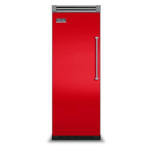 "Viking - Racing Red 30"" Quiet Cool™ All Refrigerator - VIRB Tru-Flush™ (Left Hinge Door)"