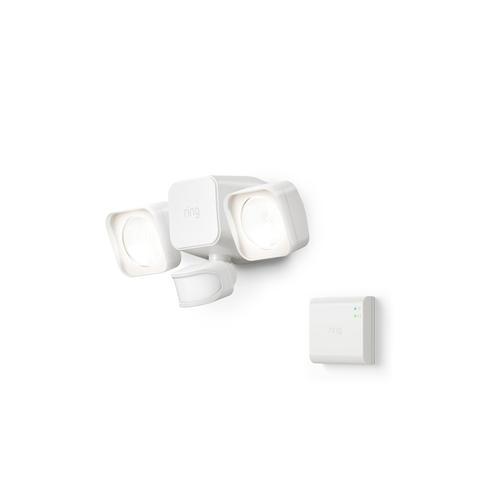 Smart Lighting Floodlight Battery + Bridge - White