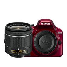 D3400 18-55mm VR Lens Kit Red