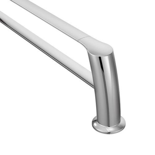 """Method chrome 24"""" double towel bar"""