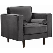 """Emily Velvet Chair - 36.5"""" W x 36"""" D x 34"""" H"""