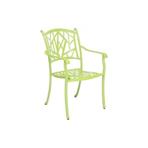 Alfresco Home - Madina Aluminum Stackable Cafe Chair