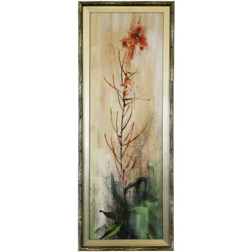 Style Craft - FIREWEED I  39in X 15in  Made in the USA  Textured Framed Print