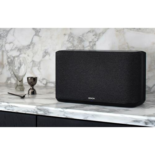 Large wireless speaker with HEOS Built-in (Black)