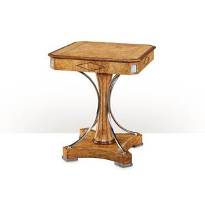Theodore Alexander - A Karelian birch games table, Jade