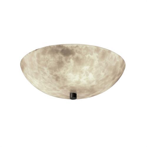 """18"""" Semi-Flush Bowl w/ LED Lamping"""