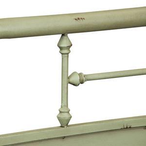 Twin Metal Headboard - Green