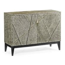 Geometric Accent Cabinet