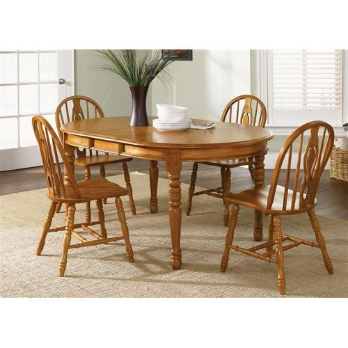 Liberty Furniture Industries - Oval Leg Table
