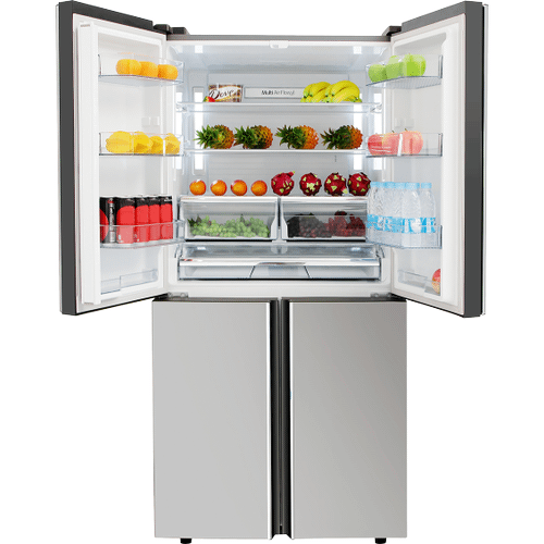 36 Inch French Door Refrigerator In Stainless Steel, Counter Depth
