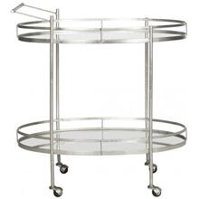 See Details - Dante Bar Cart - Silver