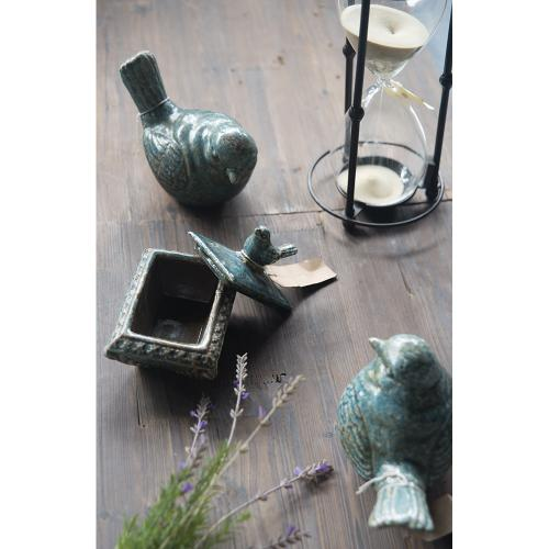 Product Image - 69162  Watchful Bird Ceramic Accent