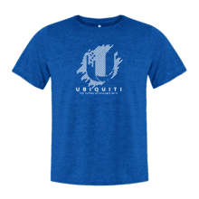 Future of Scalable Wi-Fi T-Shirt, Blue - Large