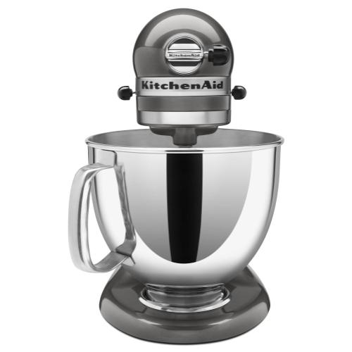 Value Bundle Artisan® Series 5 Quart Tilt-Head Stand Mixer with Flex Edge Beater - Liquid Graphite