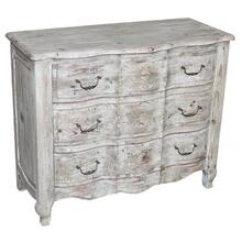 Pine White Wash Chest