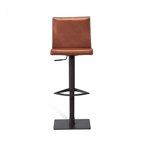 Lorenzo Adjustable Stool - Cognac