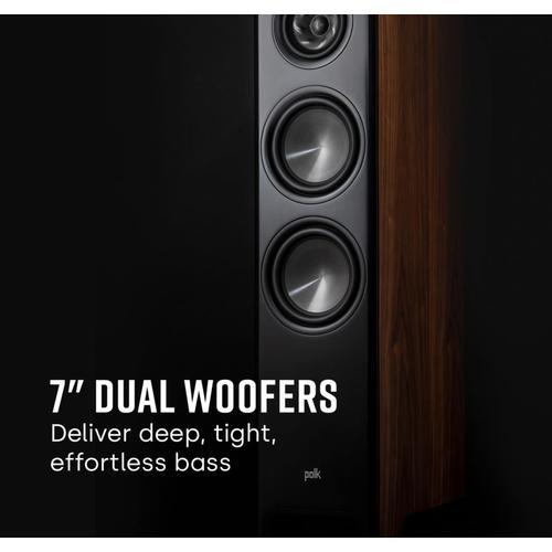 Legend Series Premium Floorstanding Tower Loudspeaker in Black Ash
