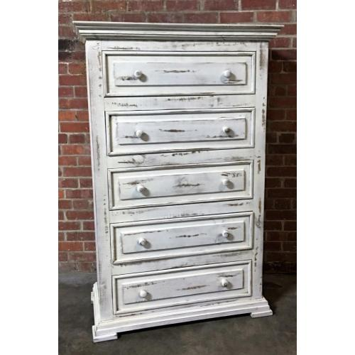 Product Image - MIC3700CHEST  Chalet Chest - ASPEN GRAY (Shown in White)