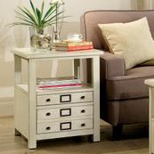Sullivan - Side Table - Country White Finish