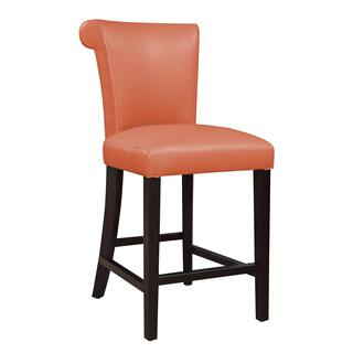 "Briar III 24"" Bar Stool Orange"
