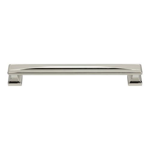 Wadsworth Pull 7 9/16 Inch (c-c) - Polished Nickel