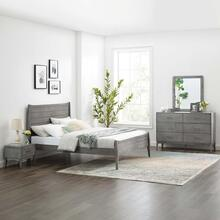 Georgia 4 Piece Bedroom Set in Gray