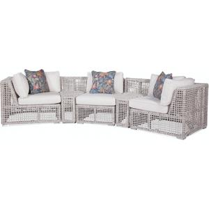Gallery - Central Park Curved Outdoor Sectional