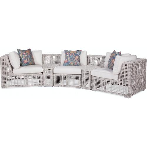 Braxton Culler Inc - Central Park Curved Outdoor Sectional