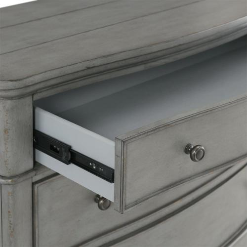 Bella Grigio - Bachelor Chest - Chipped Gray Finish