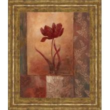 """View Product - """"Poppy Silhouette"""" By Vivian Flasch Framed Print Wall Art"""