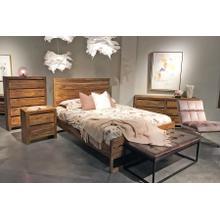 See Details - Urban Solid Sheesham Wood Bedroom Set, HC1425S01