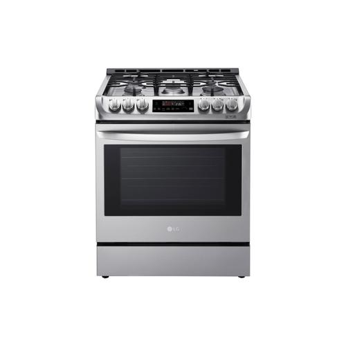 6.3 cu. ft. Gas Slide-in Range with ProBake Convection and EasyClean®