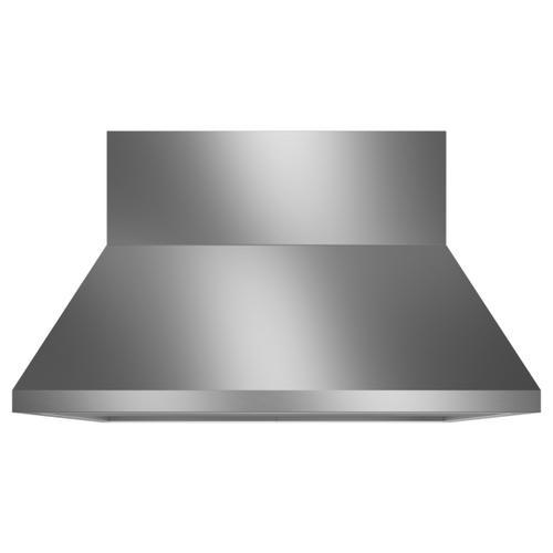 "Monogram - Monogram 48"" Stainless Steel Professional Hood with Quietboost™ Blower"