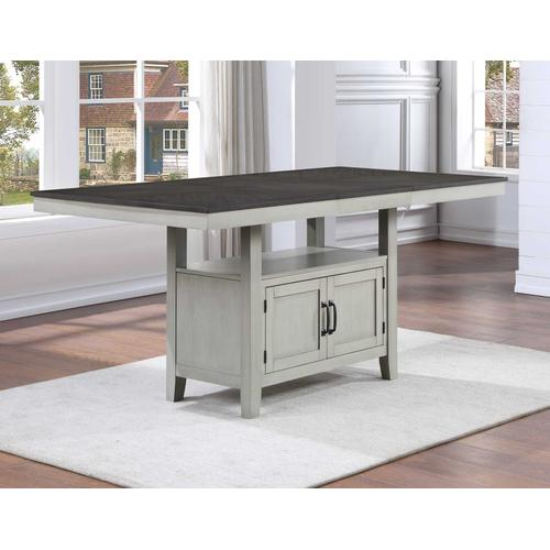 Hyland 5-Piece Counter Dining Set (Counter Table & 4 Counter Chairs)