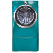 Front Load Washer with Wave-Touch Controls Featuring Perfect Steam