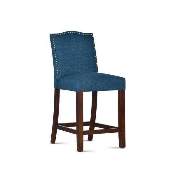 "Elden Upholstered Counter Chair [1/2"" Memory foam]"