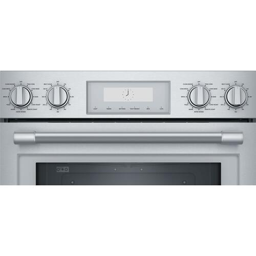 Thermador - Double Wall Oven 30'' Stainless Steel PO302W