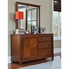 Bailey Mirror - Misson Oak