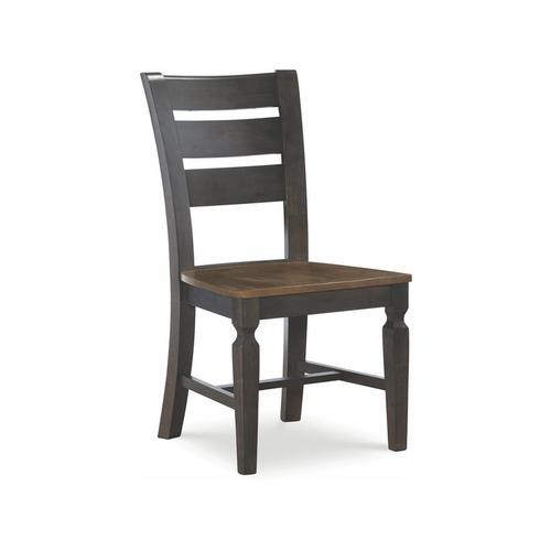 Laddertback Chair in Hickory & Coal