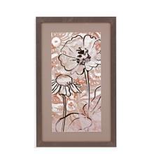Gold Boho Floral I