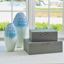Cut Carved Vase-Cloud-XLg