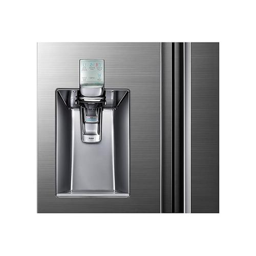 Gallery - 34 cu. ft. 4-Door Flex™ Chef Collection Refrigerator with Sparkling Water Dispenser in Stainless Steel