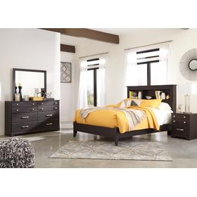 Queen Bookcase Bed With Dresser