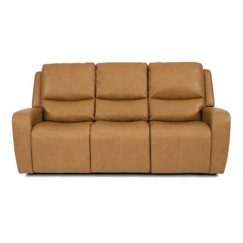 Aiden Power Reclining Sofa with Power Headrests
